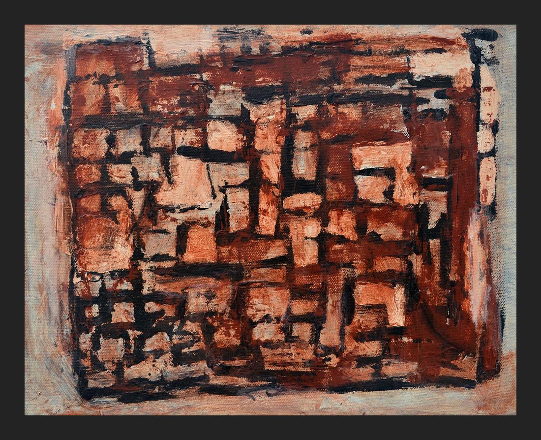 HOMAGE TO MATISSE II; Acrylic on canvas, 6 x 10